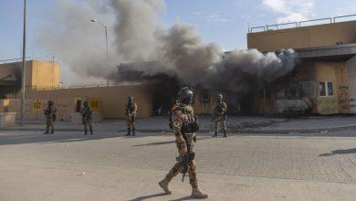 Photo de Attaque à la roquette près de l'ambassade des États-Unis en Irak