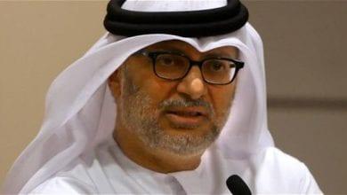 صورة وزير الخارجية الإماراتي يتهم النظام التركي بتبني برنامج توسعي في العالم العربي