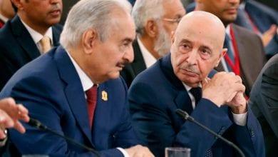 صورة صالح يؤكد أن إعلان القاهرة هو الأقرب لحل الأزمة الليبية