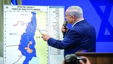 صورة وزراء خارجية ألمانيا وفرنسا ومصر والأردن يوجهون تحذيراً لإسرائيل بشأن خطة الضم