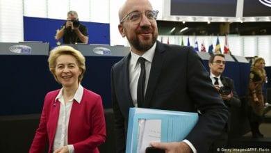صورة قمة أوروبية تقرر في مسألة العقوبات على أنقرة
