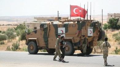 مصرع جندي تركي