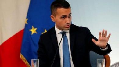 وزير الخارجية الإيطالي