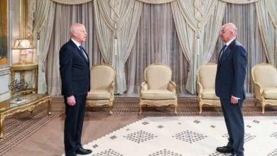 صورة وزير الخارجية اليوناني: نرفض التدخل الأجنبي في ليبيا