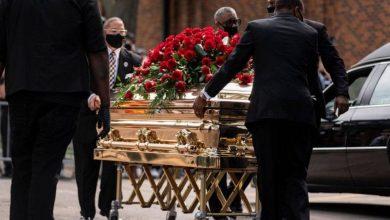 صورة جنازة مهيبة لجورج فلويد