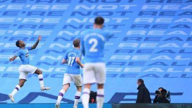 صورة مانشستر سيتي يفوز بثلاثة أهداف على أرسنال