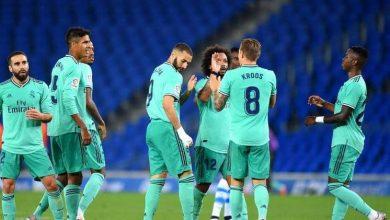 صورة ريال مدريد يحتل صدارة الدوري الإسباني
