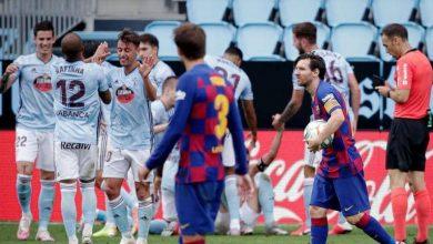 صورة أسباس يوجه ضربة لآمال برشلونة في المنافسة على لقب الدوري الإسباني