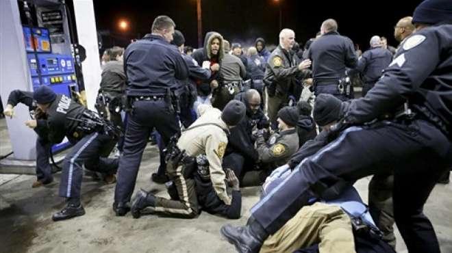 عنف الشرطة الامريكية