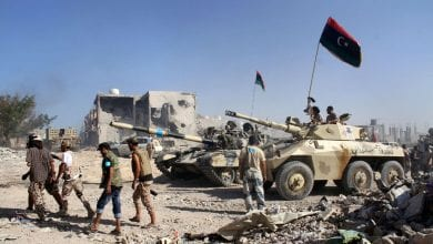 صورة القبض على خلية كبيرة في مدينة سرت كانت تخطط لأعمال ضد الجيش الليبي