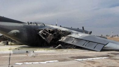 تحطم طائرة شحن