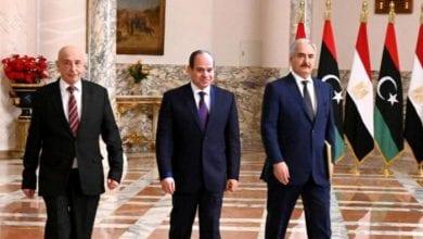 صورة فرنسا وروسيا والإمارات تدعم المبادرة المصرية لحل الصراع في ليبيا