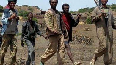 صورة ميليشيات إثيوبية تشن هجوماً على موقع عسكري سوداني