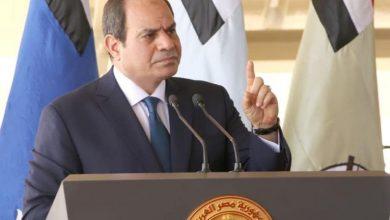 Photo de Al-Sissi: Toute intervention directe de l'Egypte en Libye est légitime