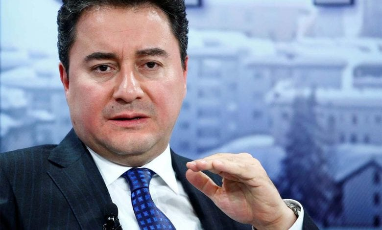 Photo of Ali Babacan former economy chief , formed separate political parties to challenge the ruling AKP.