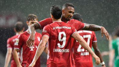 Photo de Bayern Munich champion d'Allemagne pour la huitième fois