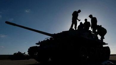 Photo of Convoy of Syrian mercenaries in Sirte area is targeted: Libyan Army