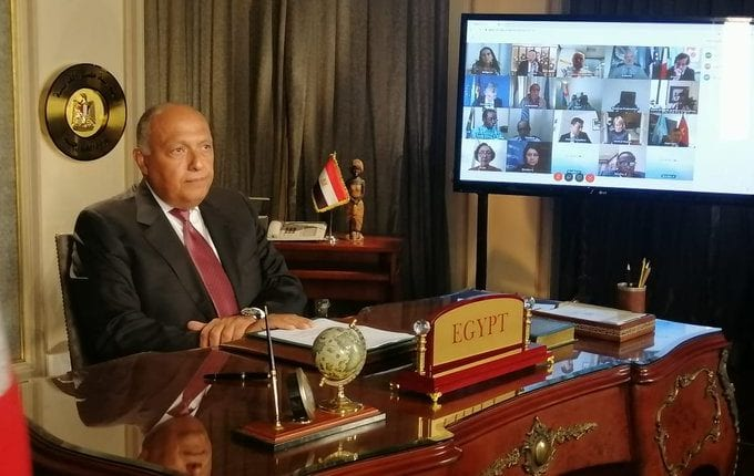 Photo of Egypt's Foreign Minister full speech on GERD at UNSC