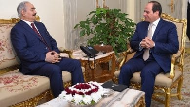Photo of Egypt to Hafter: Cairo will not allow any threat to its western borders