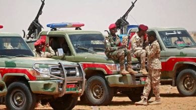 Photo of Ethiopian militia bombed a Sudanese camp with artillery