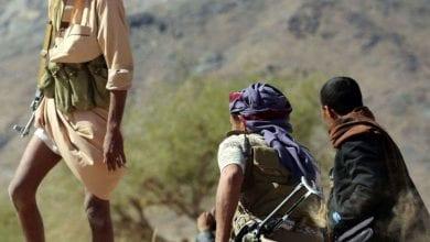 صورة القبائل اليمنية تتصدى لميليشات حزب الإصلاح الإخونجي