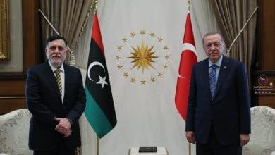 Photo of Fayez Al-Sarraj holds talks with Turkish President, Erdogan in Ankara