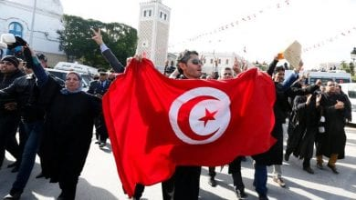 Photo of Leaders of 'Departure Sit-in' Threaten Tunisia Govt. with Civil War