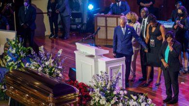 Photo de Les funérailles de George Floyd à Houston