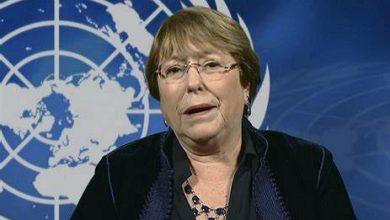 """Photo de Michelle Bachelet: """"L'annexion est illégale, Point final"""""""