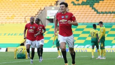 Photo of Norwich City 1-2 Manchester United: Harry Maguire scores extra-time winner