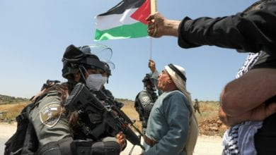 Photo of Palestinians Protests In Occupied West Bank Against Israeli Annexation Plan and