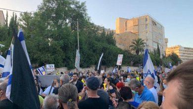 Photo de Tel Aviv: Les Israéliens demandent la démission de Netanyahu