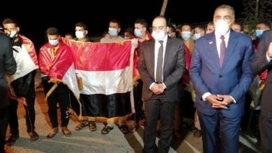 Photo of Arrival of Egyptians workers who were torturedby Libyan militia to Cairo