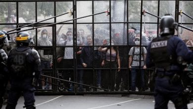 Photo of Thousands protest against police violence, racism in France