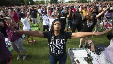 Photo of Thousands celebrate Juneteenth with anti-racism marches across US