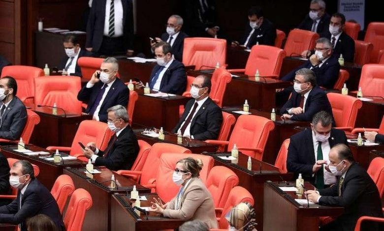 Photo of Turkish parliament revokes parliamentary status for three opposition deputies