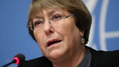 Photo of UN human rights chief: Israel's annexation plans 'illegal'