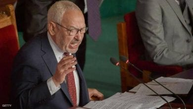 "Photo of Uprising against Erdogan's agent Rashid Ghannouchi"" .. details 16 hours inside the Tunisian parliament"