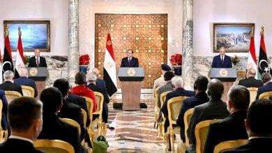 صورة الرئيس المصري يعلن مبادرة شاملة لإنهاء الصراع في ليبيا