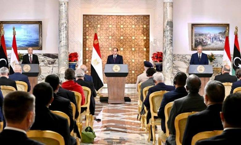 مبادرة مصرية لحل الازمة الليبية