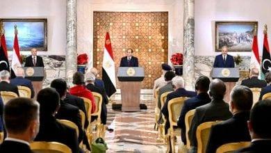 Photo de Al-Sissi annonce une initiative globale pour mettre fin au conflit en Libye