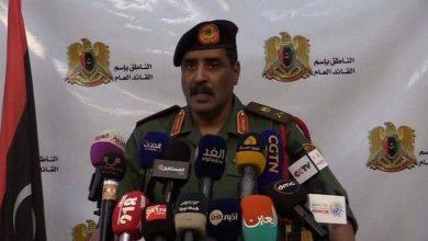 Photo de L'armée libyenne met en garde contre le projet d'Erdogan pour le Croissant pétrolier