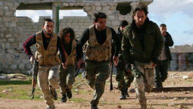 Photo de Tension entre les groupes terroristes dans le nord de la Syrie