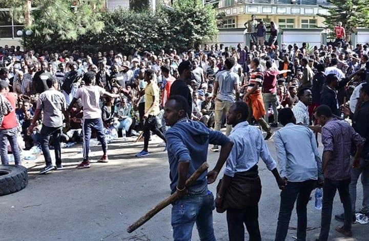 احتجاجات واسعة في إثيوبيا