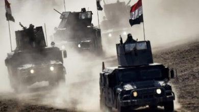 صورة القوات العراقية تعزيز انتشارها على طول الحدود مع تركيا