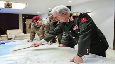 """صورة حفتر يتوعد """"المستعمر التركي"""" بالطرد من الأراضي الليبية"""
