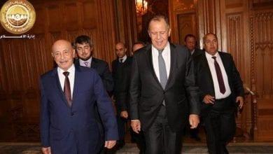 """صورة عقيلة صالح: لن يكون حوار بين البرلمان مع حكومة السراج """"غير القانونية"""""""