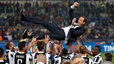 صورة يوفنتوس بطلاً للدوري الإيطالي