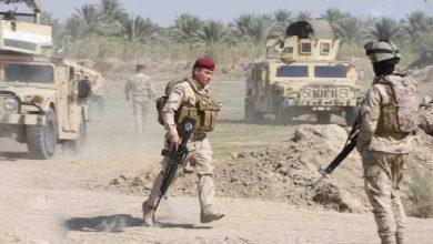 صورة مقتل آمر لواء من الجيش العراقي جراء هجوم إرهابي