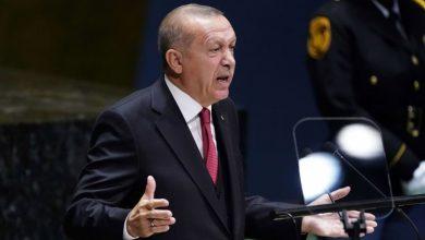 صورة صحيفة ألمانية تصف أردوغان بالعملاق المزيف والسياسي الضعيف